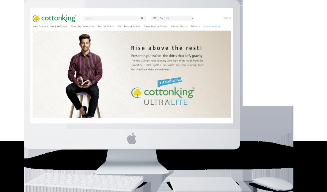 Ecommerce Website Development Banner